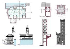 Rilievi edilizia monumentale finalizzati ad elaborazione di progetti di conservazione e restauro
