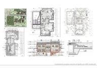 Progetto esecutivo per edifici residenziali unifamiliari con piscina.