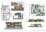 Progetti per edifici residenziali bifamiliari.
